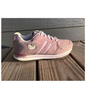 Vintage 2003 Suede Hello Kitty Sneakers Size 4.5